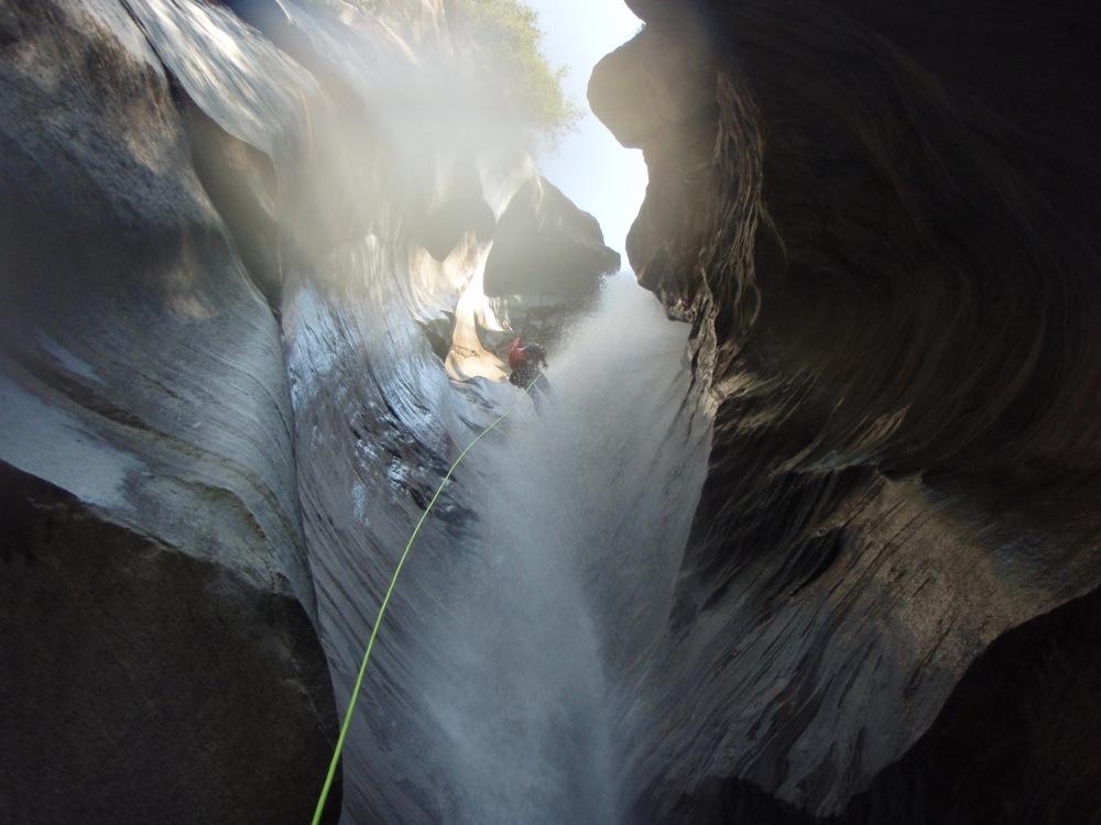 Iragna canyon